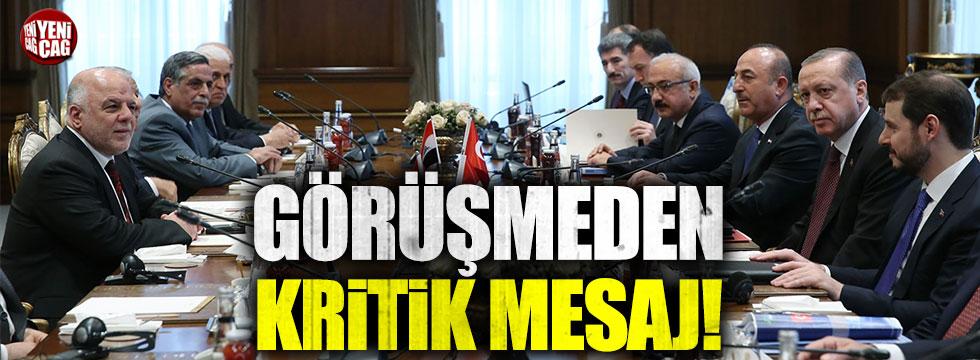 """Erdoğan: """"Türkiye olarak her türlü ortak mücadeleyi sürdürmeye varız"""""""