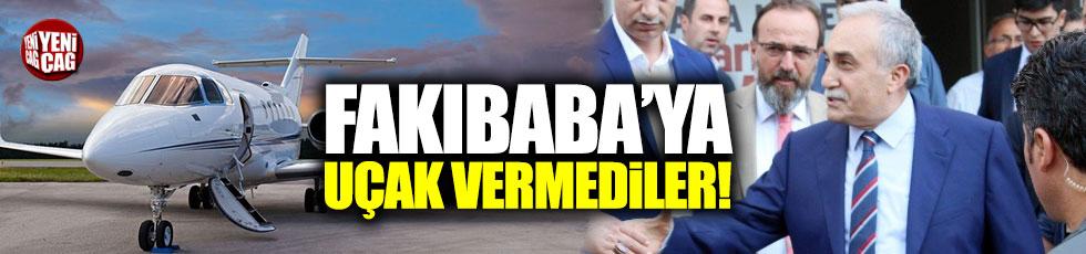 Bakanlık Fakıbaba'ya uçak vermedi