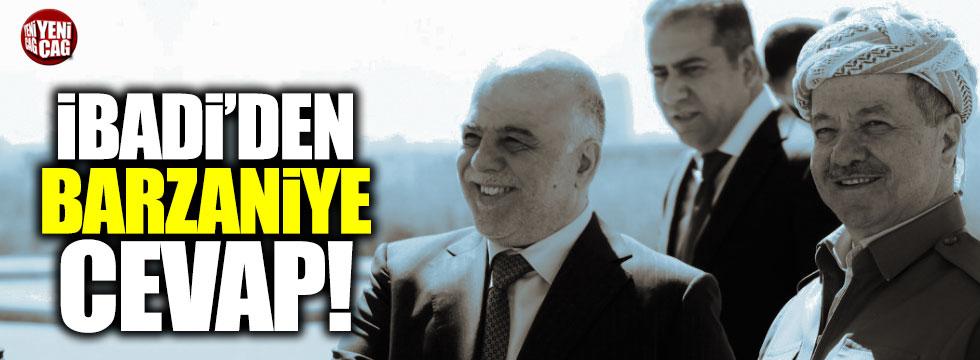 İbadi'den Barzani'nin teklifine cevap
