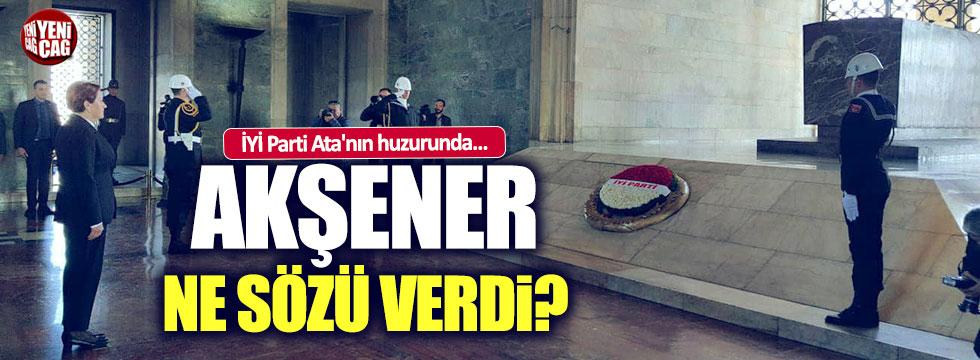 İyi Parti Mustafa Kemal Atatürk'ün huzurunda