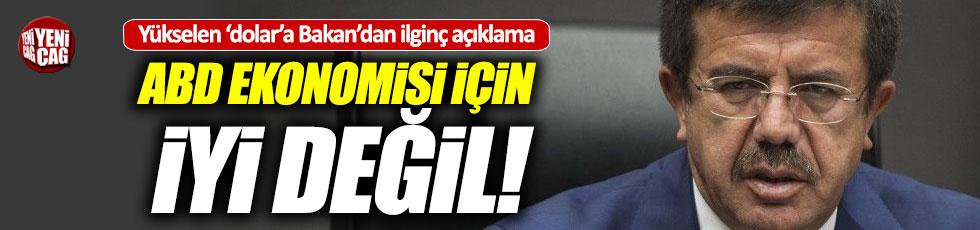 Ekonomi Bakanı Zeybekçi'den ilginç dolar açıklaması