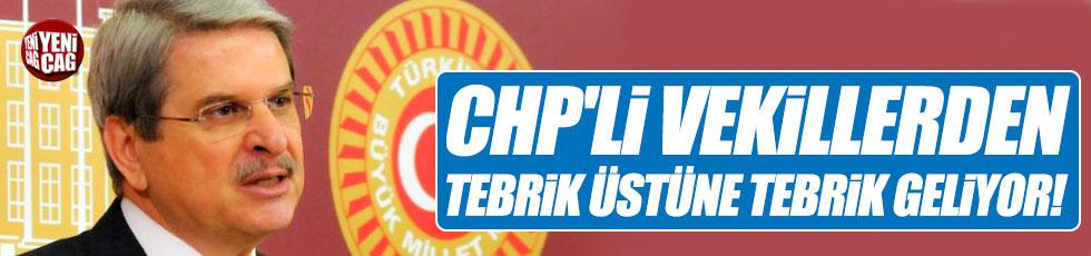CHP'li vekillerden tebrik üstüne tebrik geliyor!