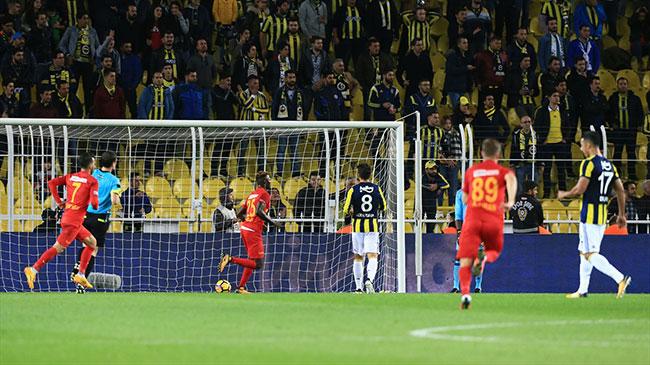 Fenerbahçe 3-3 Kayserispor - Maç Özeti