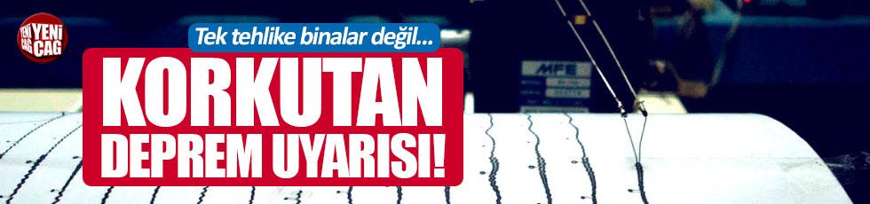 Olası İstanbul depremi için korkutan uyarı