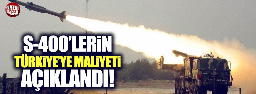 S-400'lerin Türkiye'ye maliyeti ne kadar?