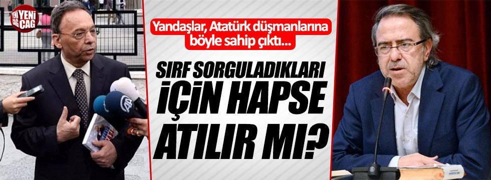 Yandaş yazarlar Atatürk düşmanı Armağan ve Yeşilyurt'a sahip çıktı!