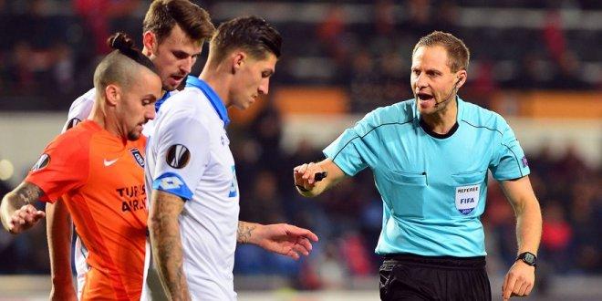 Medipol Başakşehir'den UEFA'ya hakem tepkisi