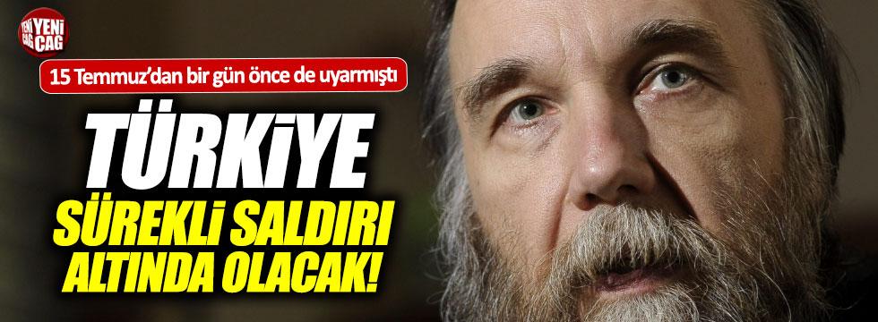 Putin'in danışmanı Dugin'den Türkiye'ye flaş uyarı
