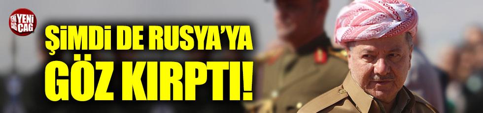 Barzani şimdi de Rusya'ya göz kırptı