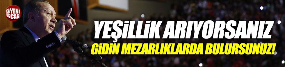 """Erdoğan: """"Günümüz şehirleri insana huzur vermiyor"""""""