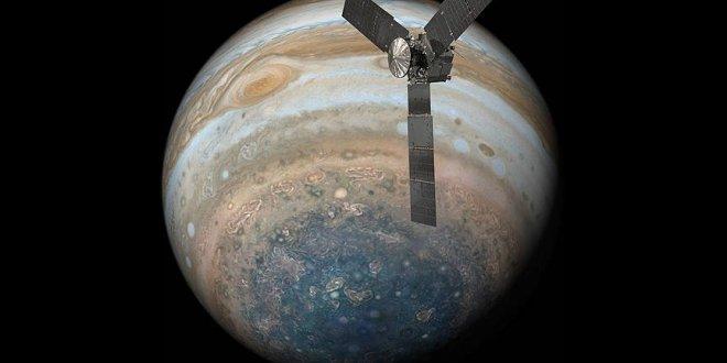 NASA'dan yeni Jupiter görüntüsü