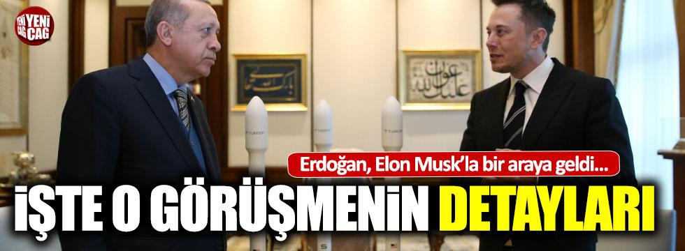 Erdoğan Elon Musk görüşmesinde neler konuşuldu?