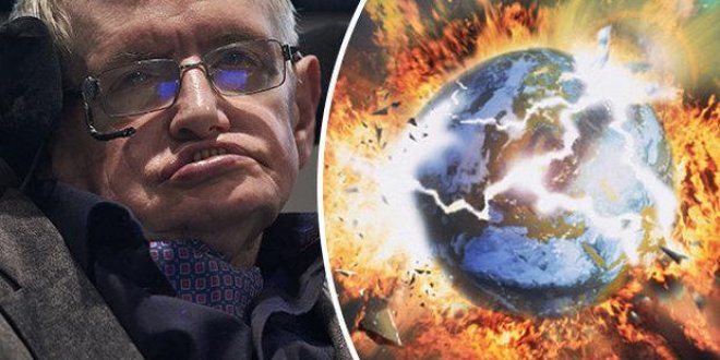 Stephen Hawking insanlığın yok olacağı tarihi verdi