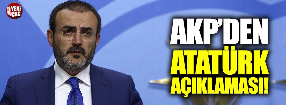 """Ünal: """"Atatürkçü olmayıp Atatürk'ü kullananlarla sorunumuz var"""""""