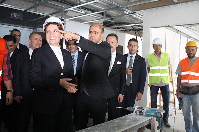 İYİ Parti'nin Genel Merkez binası açılıyor