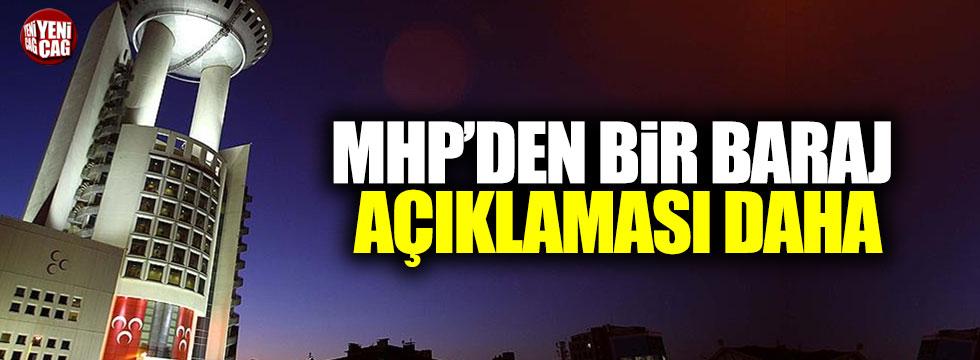 MHP'li Semih Yalçın'dan 'Seçim Barajı' açıklaması