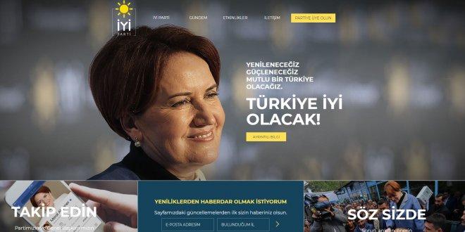 İYİ Parti'nin resmi web sitesi açıldı!