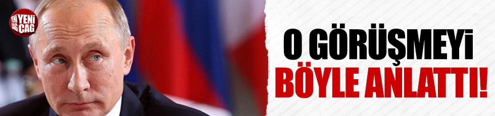 Putin Trump görüşmesini değerlendirdi