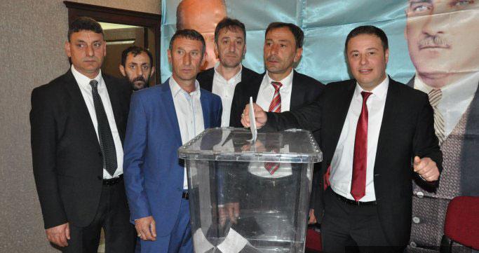 MHP Trabzon Arsin'de İYİ Parti istifası