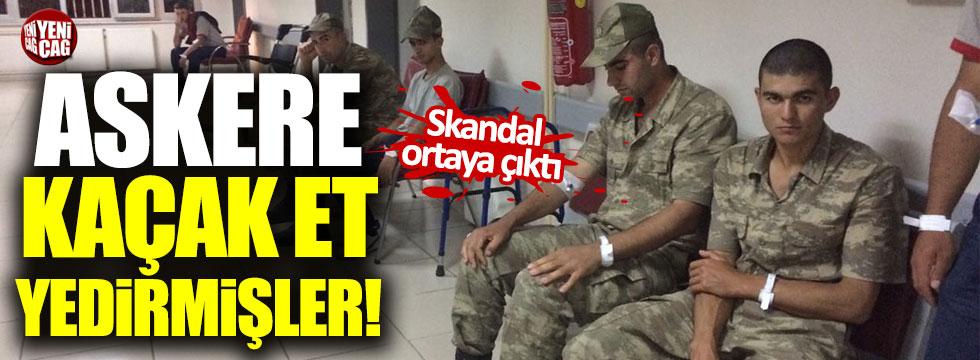 Yemek şirketinin zehirlenen askerlere kaça et verdiği ortaya çıktı!