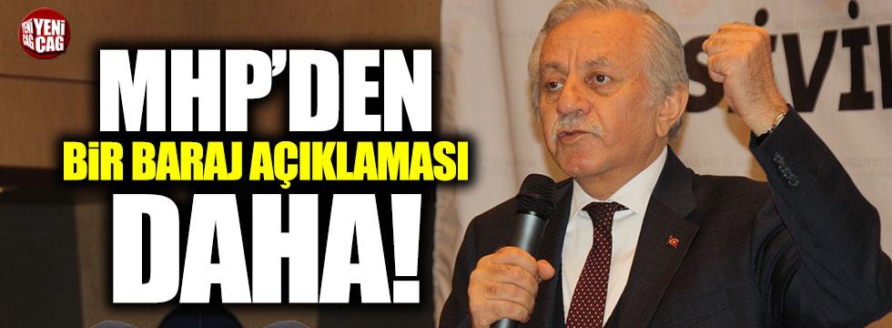 MHP'li Celal Adan'dan seçim barajı açıklaması