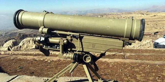 PKK'nın mağarasında Rus yapımı METİS füzesi ele geçirildi