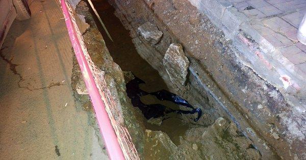 İstanbul'da kazıda insan kemikleri bulundu