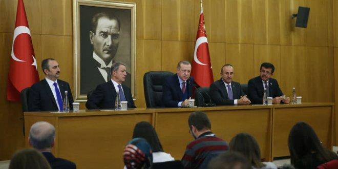 Erdoğan'dan İsmail Kahraman açıklaması