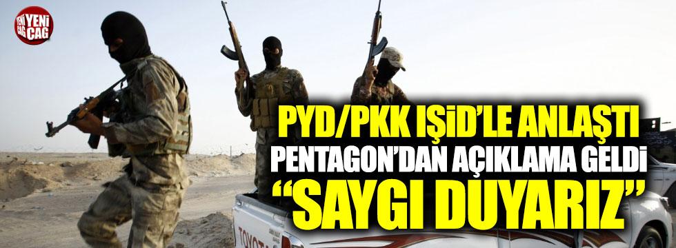 """PKK IŞİD anlaşmasına ABD'den açıklama: """"Saygı duyuyoruz"""""""
