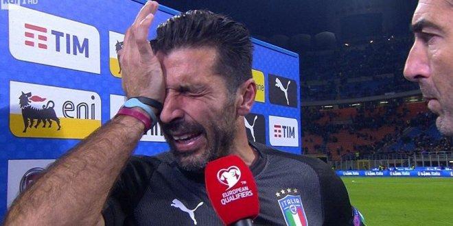 İtalya yenildi Buffon gözyaşlarına boğuldu