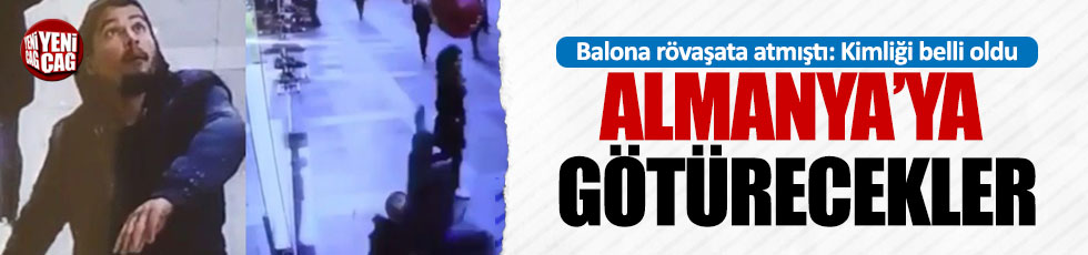 Balona rövaşata atan adamın kimliği belli oldu