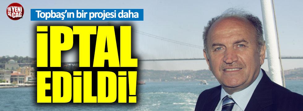 Kadir Topbaş'ın Havaray projesi iptal edildi