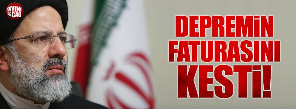 Ruhani depremin faturasını Ahmedinejad'a kesti