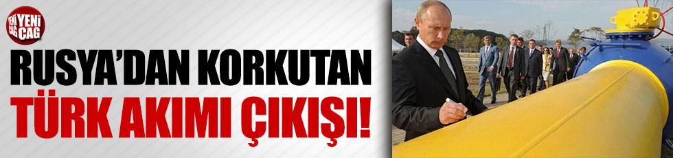 Rusya'dan korkutan 'Türk akımı' açıklaması