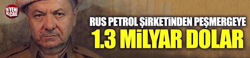 Rus Petrol şirketinden peşmergeye 1.3 milyar dolar