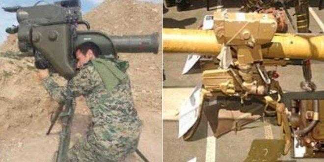 Şırnak'ta PKK'nın ininde Milan tanksavar roketi çıktı