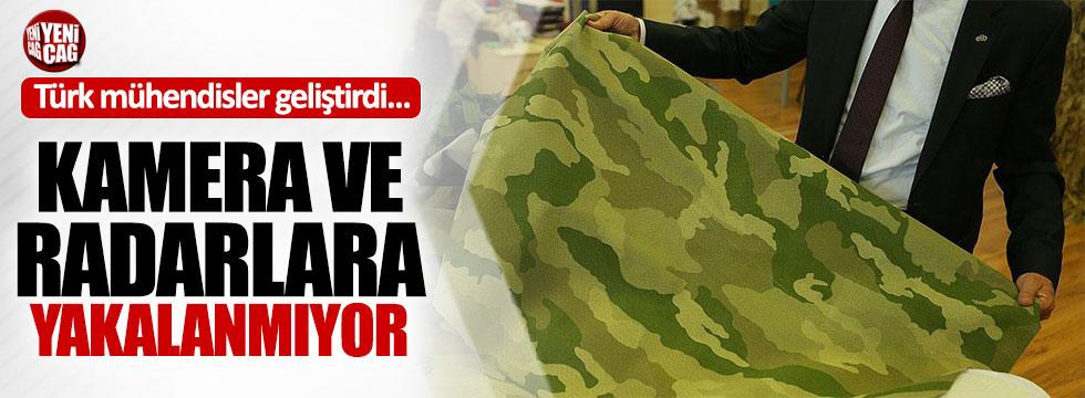 Türk mühendislerden radara yakalanmayan kumaş