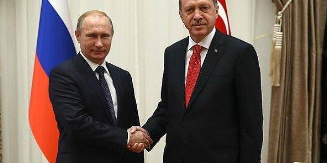 Erdoğan Rusya'da Putin ve Ruhani ile görüşecek