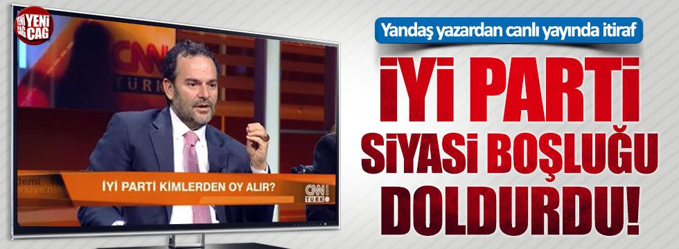 Yandaş yazar Kemal Öztürk'ten İYİ Parti itirafı