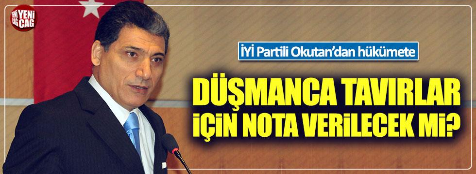 İYİ Partili Nuri Okutan, hükümeti göreve çağırdı