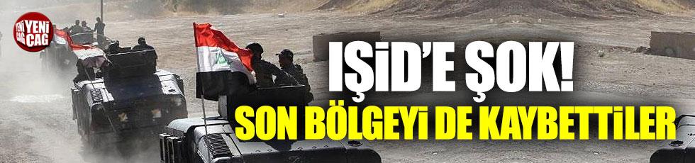 IŞİD elindeki son bölgeyi de kaybetti