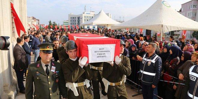 Şehit Piyade Er Kabakkaya Ordu'da toprağa verildi
