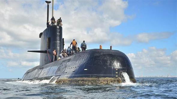 Arjantin'deki askeri denizaltıdan 48 saattir haber alınamıyor