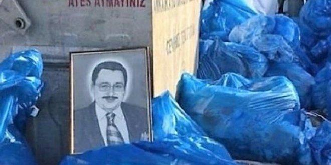 Gökçek'in resmi belediye çöplüğünde bulundu