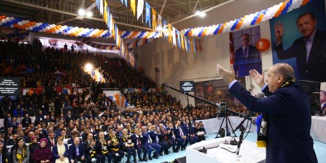 """Erdoğan: """"Mesele şahıs meselesi değil, açıklamaları olumlu buluyorum"""""""