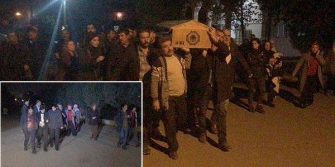PKK'lı cenazesine katılan HDP'lilere soruşturma