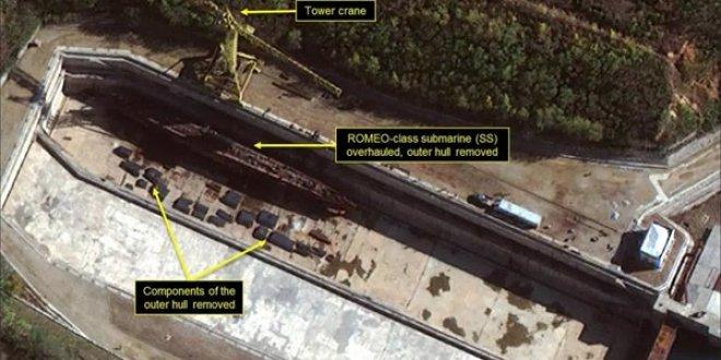 Kuzey Kore'nin silahı uydudan böyle görüntülendi!