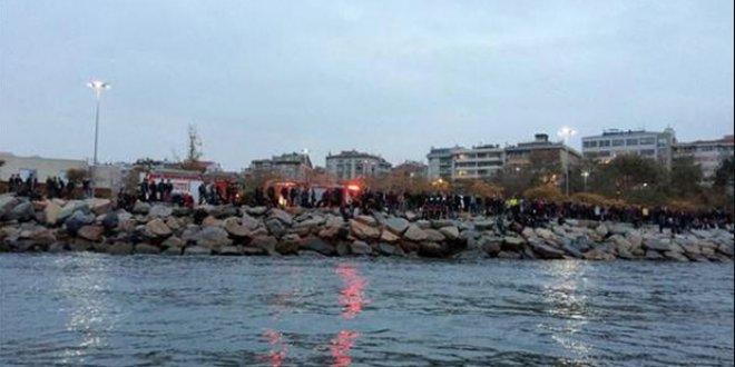 Moda sahilinde denize düşen kişi hayatını kaybetti