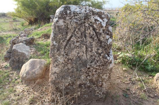 """Hatay'da """"IYI"""" damgalı mezar taşları bulundu"""