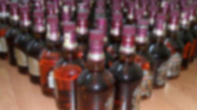 İstanbul'da 5 bin şişe sahte içki ele geçirildi